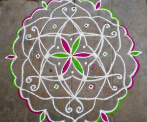 Rangoli: Happy Daughter's day