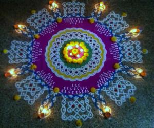 Rangoli: Happy Diwali Rangoli