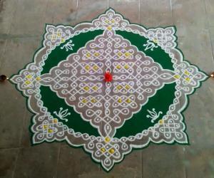 Rangoli: Margazhi 2014-Day 4