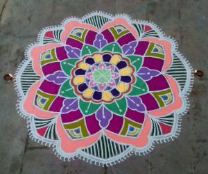 Rangoli: Margazhi 2014- Day 6