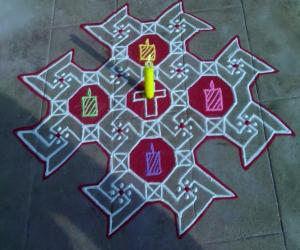 Rangoli: Merry Christmas 2014