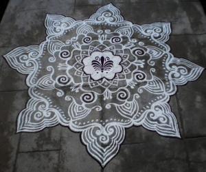 Ramanavami Special kolam