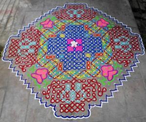 Margazhi Dew Drops Kolam Contest-2012