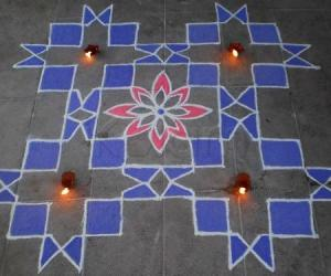 Rangoli: Thanksgiving Day Spl Kolam