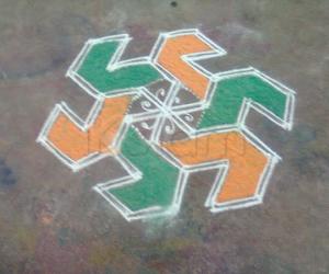 Rangoli: small rangoli