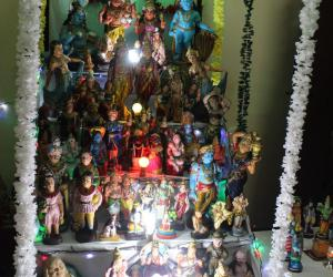 The Golu at my house