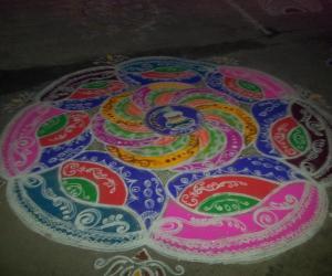 Rangoli: PONGAL SPECIAL RANGOLI- 2015