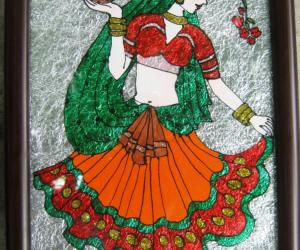 Rangoli: It is a Girl Who Lights the Family