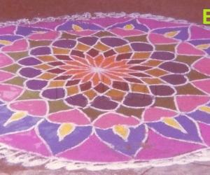 Rangoli: EARTH DAY