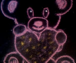 Rangoli: Teddy day