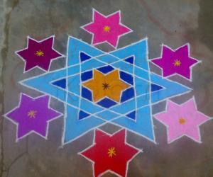 Rangoli: Merry Christmas (Mar 9)