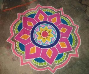 Rangoli: Pongal 1 2016