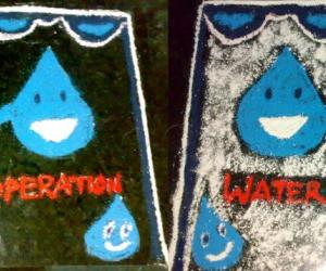 Rangoli: INTERNATIONAL WATER DAY