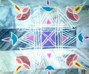 Rangoli: Apt Margazhi18 2014-15