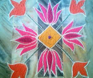 Rangoli: Apt Margazhi23 2014-15