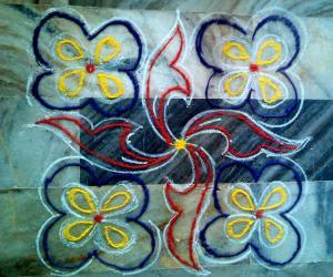 Rangoli: Apt Margazhi7 2014-15