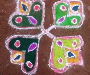 Rangoli: KIRITHI'S BOGI KOLAM