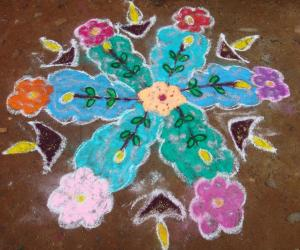 Rangoli: KIRITHI-PONGAL DAY1A