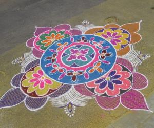 my winning kolam