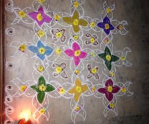 Rangoli: Vaikunda ekadasi