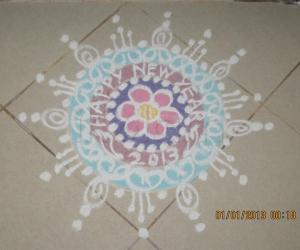 Rangoli: New Year Kolam