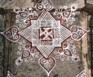Rangoli: Padikolam-3