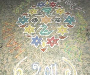 Rangoli: FRIENDS., HAPPY DIWALLI