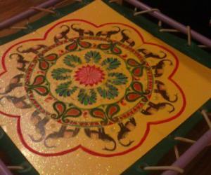 Diwali 2011 - Rangoli Ireland(2)