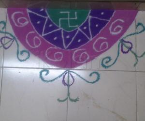 Rangoli: Navratri Rangoli