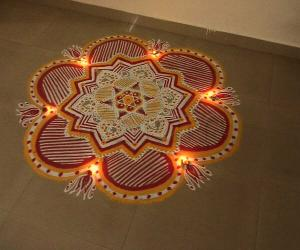 Rangoli: Happy Friday