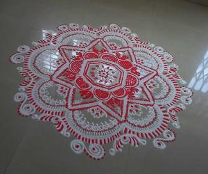 Rangoli: Divine friday