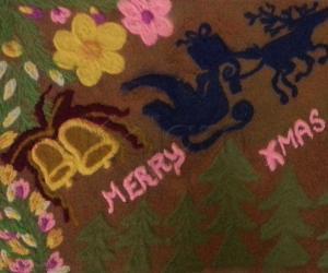 Rangoli: Happy xmas