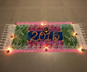 Rangoli: Happy new yr