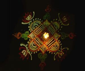 Rangoli: Happy weekend