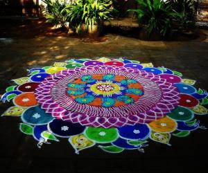 Rangoli: 400th kolam