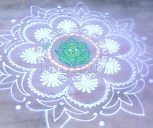 Rangoli: amma's rangoli