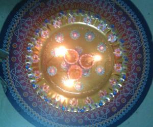 aarathi plate