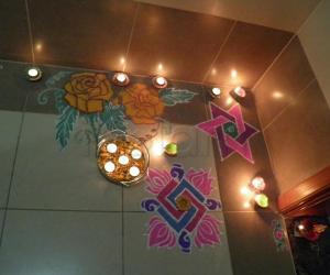 Rangoli: Diwali rangoli!