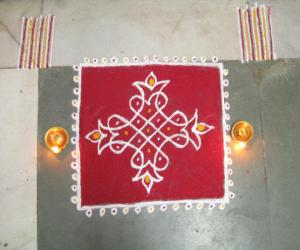 Rangoli: FUSION NORTH & SOUTH