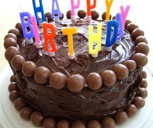 Rangoli: Cake for Rao sir and Jaya Ma'am