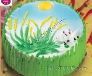 Rangoli: `Cake for our darling lax and rani's daugheter ammu