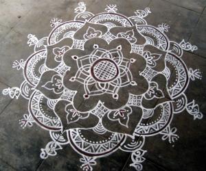 Navarathri special maakkolam
