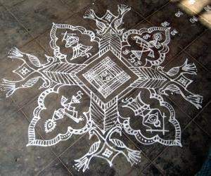 Rangoli: Janmashtami