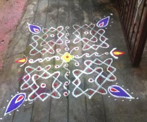 Rangoli: simple chikku