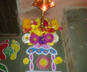 Rangoli: radham