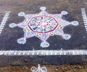 Rangoli: Deepawali Rangoli