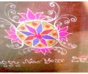 Rangoli: New Year 2012