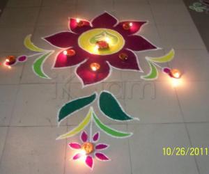 Rangoli: Dipavali Rangoli