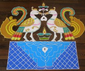 Rangoli: HAPPY DEEPAVALI!