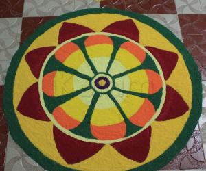 Rangoli: happy onam 2015